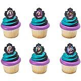 Descendants Rebel Attitude Cupcake Rings - 24 pc