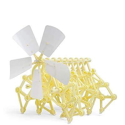 1 pieza de cuerda de viento para bestia modelo robot movimiento juguete DIY montaje Walker juguete educativo para adultos serie de ciencia: Hogar