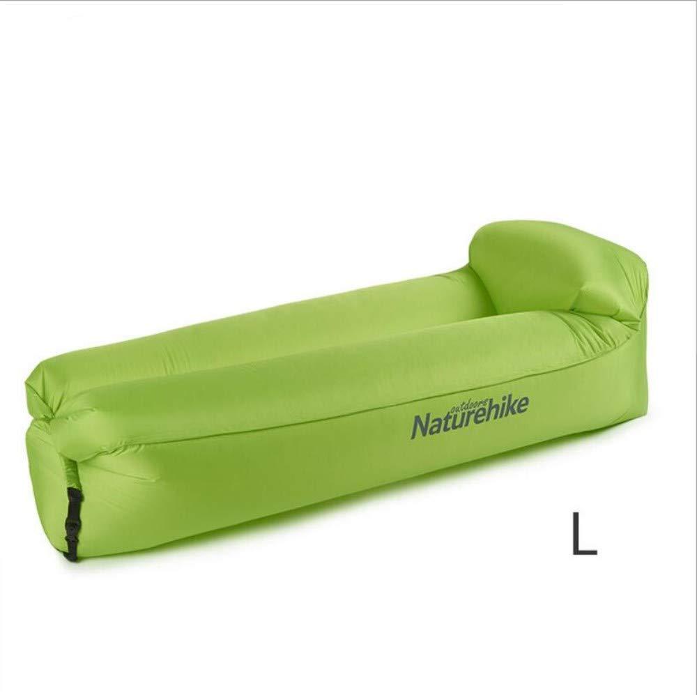 Chaiyan Luft Sofa Bett Im Freien Freizeit Mittagspause Strand Tragbare Faul Aufblasbare Sofa Orange Grau Grün Erwachsene Kinder