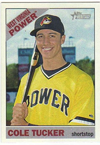 (2015 Topps Heritage Minor League #22 Cole Tucker MLB Baseball Card NM-MT)