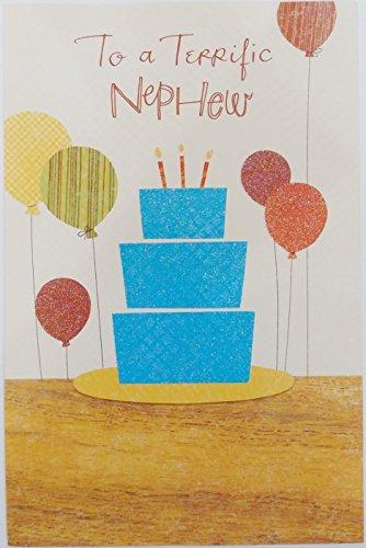 To a Terrific Nephew - Happy Birthday Greeting Card