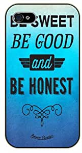 Diy design iphone 6 (4.7) case, iPhone 6 Be who you are and say what you feel, 'cuz those who mind don't matter... black plastic case / Inspirational and motivational life quotes / SURELOCK AUTHENTIC