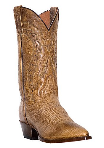 be79d23f7a5 Laredo Mens Sandoval Tan Cowboy Boots Leather Square Toe