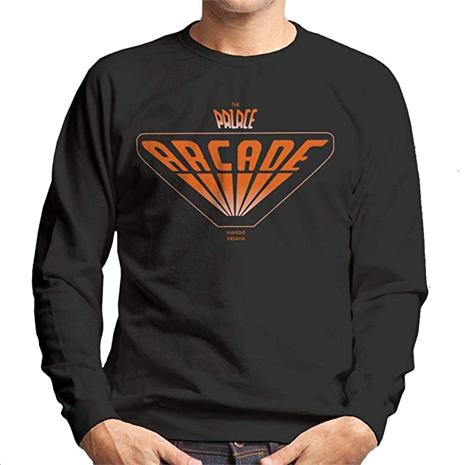 Cloud City 7 The Palace Arcade Hawkins Indiana Stranger Things Mens Sweatshirt: Amazon.es: Ropa y accesorios