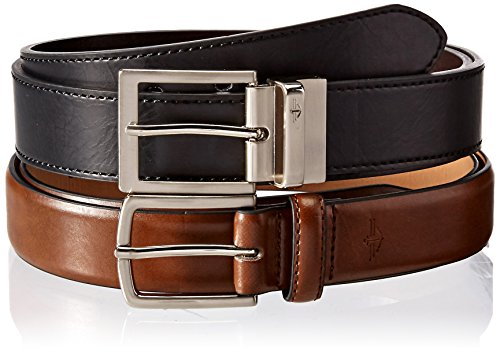 Dockers Men's 2 Box Reversible and Brown Casual Belts, Assorted, Large