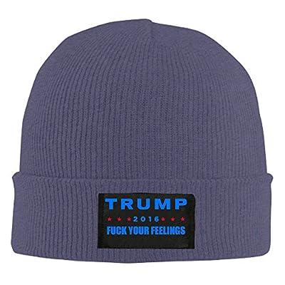 Doisybob Unisex Trump Fuck Your Feelings Acrylic Watch Hat