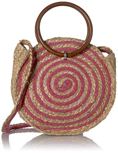 Circus by Sam Edelman Zowie Stripe Round Shoulder Bag, Pink