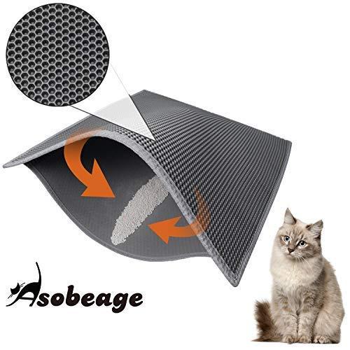 (Asobeage Premium Cat Litter Mat(30