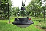 1 Pc Impressive Fashionable 3-Mode 0.5W 60LED Lantern Night Light Outdoor Camping Lamp Energy Saving Tent Bright Umbrella Bivouac Fishing Color Black with Hook