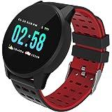 Reloj Inteligente Smart Watch Impermeable IP67 Pulsera de Actividad Inteligente Hombre Mujer rastreador de Fitness para