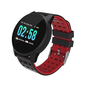 Reloj Inteligente Smart Watch Impermeable IP67 Pulsera de Actividad Inteligente Hombre Mujer rastreador de Fitness para Correr, de Ritmo Cardíaco/Sueño, ...