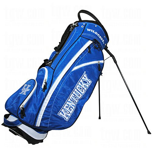 - Team Golf NCAA Kentucky Wildcats Fairway Golf Stand Bag, Lightweight, 14-way Top, Spring Action Stand, Insulated Cooler Pocket, Padded Strap, Umbrella Holder & Removable Rain Hood