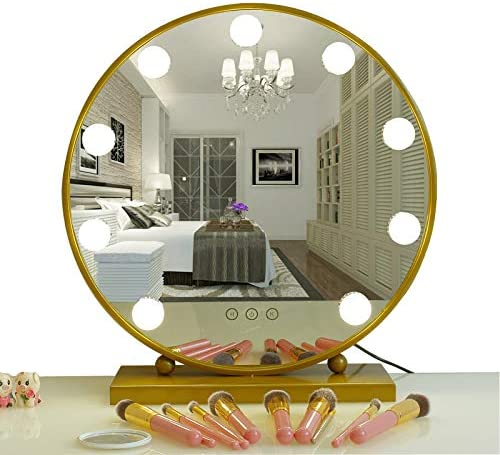 Amazon.  AIMEE JL Lighted Makeup Mirror Hollywood Style Vanity