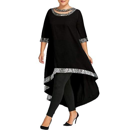 Howley Dress Women Plus Size Ball Gown Three Quarter Sleeve Skirt