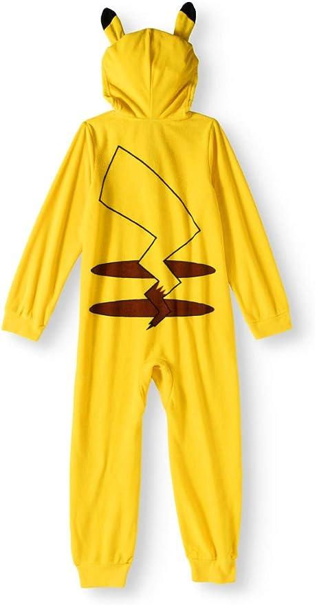 Amazon.com: Ame Sleepwear Pokemon Pikachu Big Boys con ...
