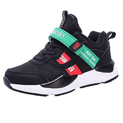 462b8b32 LGXH Breathable Kids Running Shoes Non-Slip Youth Boys Girls Casual Sports  Walking Athletics Sneakers