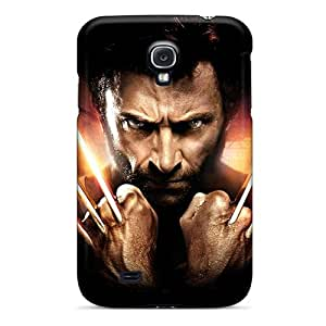 Awesome JDm24470qnKH Douglasjoy2014 Defender Tpu Hard Cases Covers For Galaxy S4- Hugh Jackman As Wolverine Black Friday