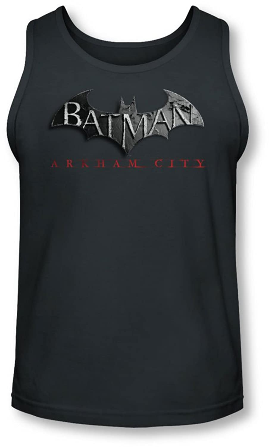 Arkham City - Mens Logo Tank-Top