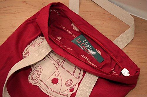 Rouge Vw T1 Brisa Bleu Combi À Sac Provisions Busb12 8xwCwS1q