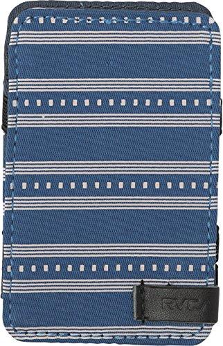 7c515db957fb RVCA Mens Magic Wallet Print, blue EA
