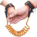 Amazon Price History for:Anndia Premium Child & Baby Wristband Link Leash Set Of 2 Anti-lost Kid & Toddler Harness Safety Cord Rotating & Skin-Friendly Ages 2 To 10 Years Old Ideal Gift For Parents
