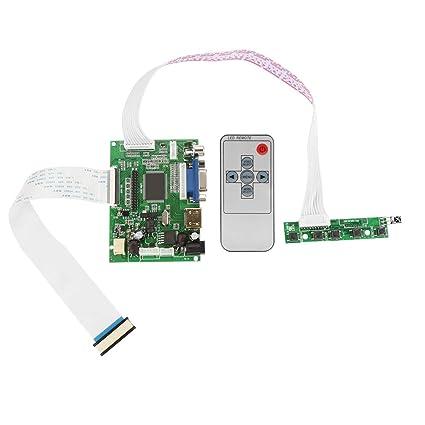 Amazon com: Hilitand VGA LCD Controller Board,HDMI VGA 2AV