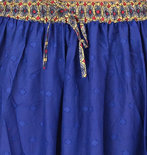 unique amp; US Bleu rgulier 40 Femme Jupe M taille taille UK Scarves Skirts taille 42 RUdxCTnqT