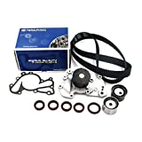 Timing Belt Water Pump Kit fits for 2001-2006 Kia Optima, Hyundai Santa Fe, 2005-2010 Kia Sportage, 2005-2009 Tucson, 2003-2008 Tiburon, 1999-2005 Hyundai Sonata 2.7L V6 24V G6BA