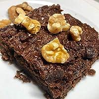Vanela-Brownie de Chocolate (Vegano)-Entero 9 Porciones