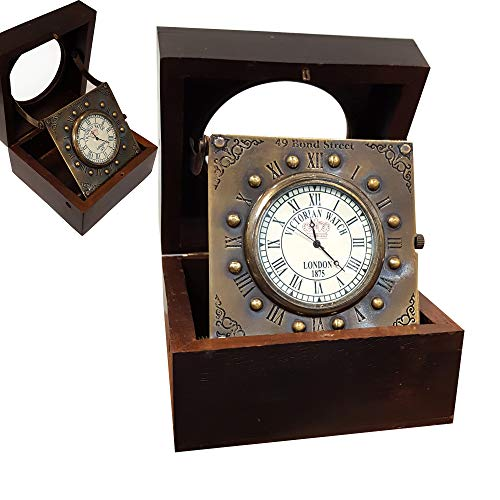 Collectibles Buy Vintage Titanic Wooden Clock Marine Home Decorative Handmade Article Brass Desk Clock Antique Gift Item