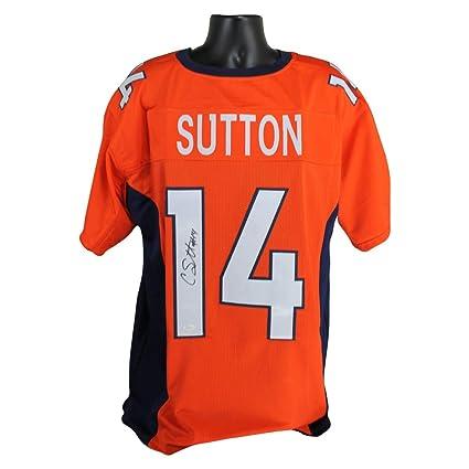 huge selection of 065b0 09638 Amazon.com: Courtland Sutton Autographed Denver Broncos ...