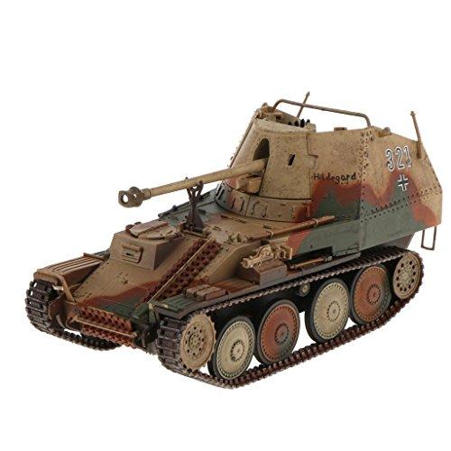 - FidgetKute 1/32 Scale Diecast Tank WWII Germany MARDER Tank Model Toys