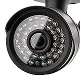 Aiposen Outdoor Wi-Fi, Video Monitoring, Surveillance, Security Camera (Black)