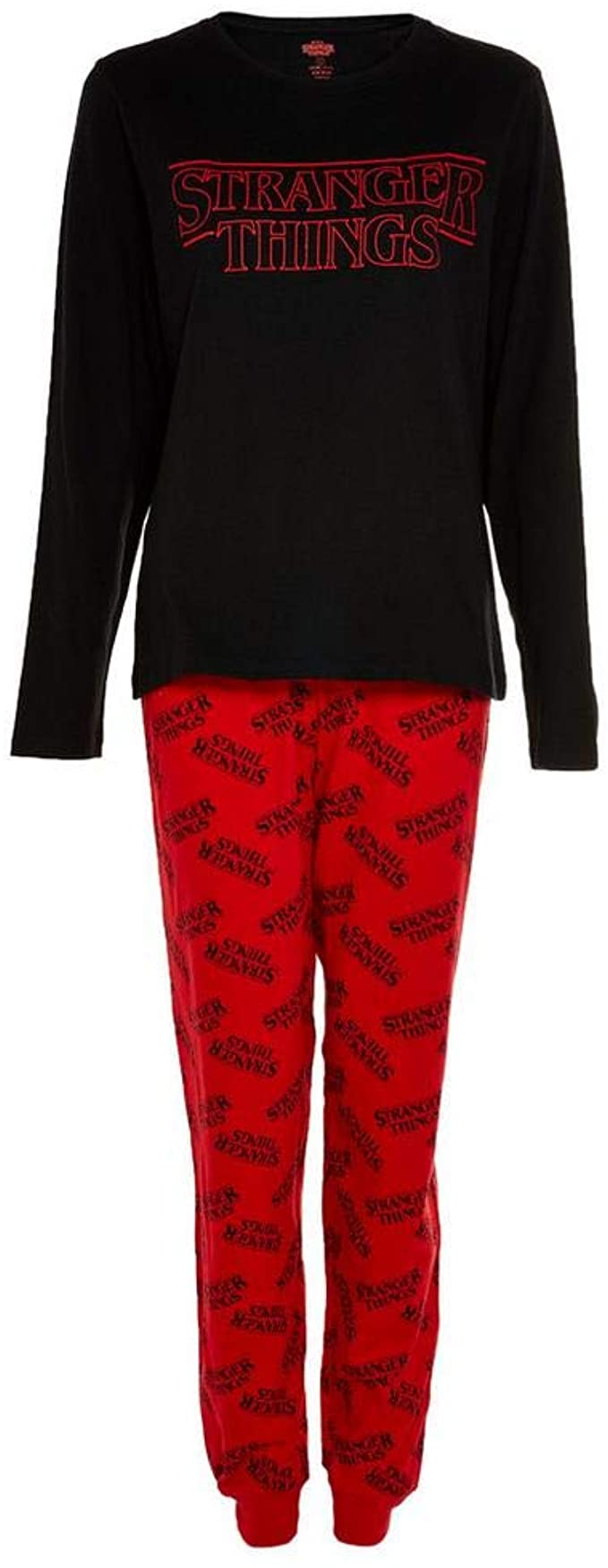 Stranger Things Pyjamas Womens Short OR Long Leg Options PJs