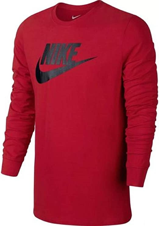 Nike-Men-039-s-Futura-Icon-Univers-Red-Black-LL-T-Shirt-943247-657-Sizes-M-XL-XXL Nike-Men-Futura-Icon-Univers-Red-Black-LL-T-Shirt-943247-657-SizeXXL