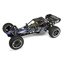 HPI Racing 104225 Baja 5B Buggy with Tribal Painted Body, Blue