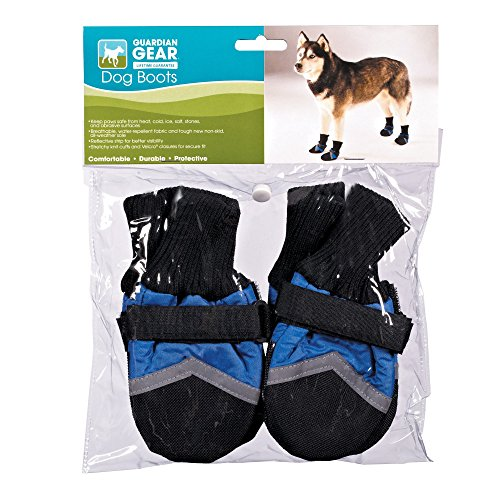 UPC 721343252184, Guardian Gear Oxford Boots for Dogs, XXS, Blue