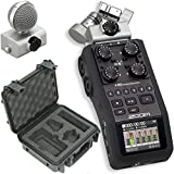 Zoom H6 Portable Stereo Recorder & SKB 3i-0907-4-H6 Waterproof Hard Case - Bundle