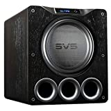 SVS PB16-Ultra 1500 Watt 16'' Ported Cabinet Subwoofer (Black Oak Veneer)