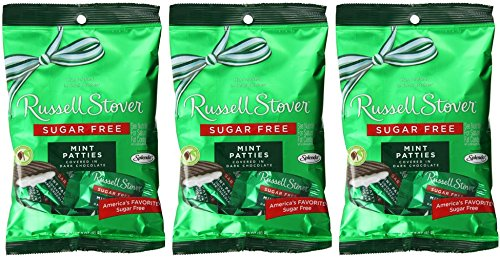 Russell Stover Sugar Free Peg Bag, Mint Patties, 3-ounce ...