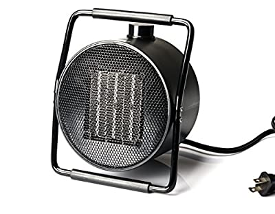 MINILIFE Ceramic Space Heaterwith Adjustable Thermostat