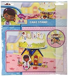 Amscan - Soporte para tartas, diseño de Doctora Juguetes