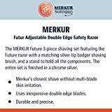 Merkur Futur Adjustable Double Edge Safety