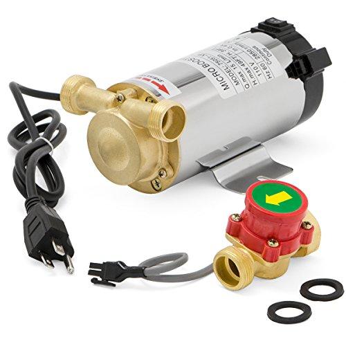 XtremepowerUS 100 Watt Water Booster Stainless Pump, Domestic Shower (Domestic Water)