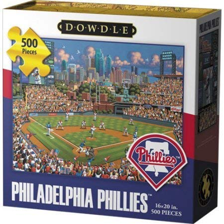 Philadelphia Phillies - 500pc Jigsaw Puzzle by Dowdle
