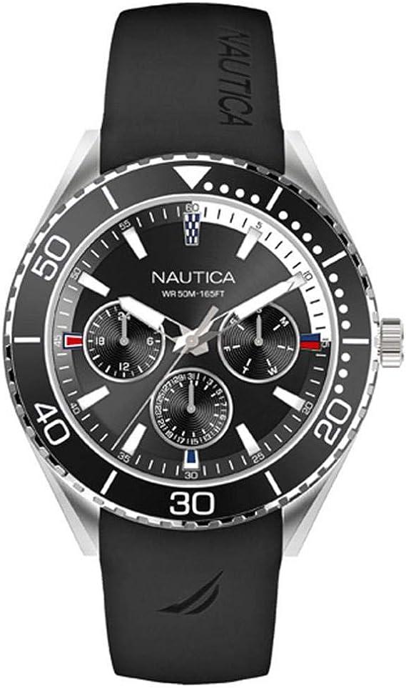 Nautica NAPNAI804 Reloj de Pulsera para Hombre (47 mm