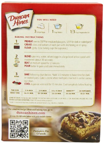 Duncan Hines White Cake Mix Instructions
