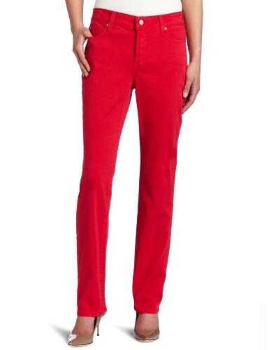 NYDJ Women's Petite Sheri Skinny colored twill Pant