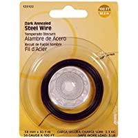 The Hillman Group 123122 24 Gauge Dark Annealed Wire, 1-Pack by The Hillman Group