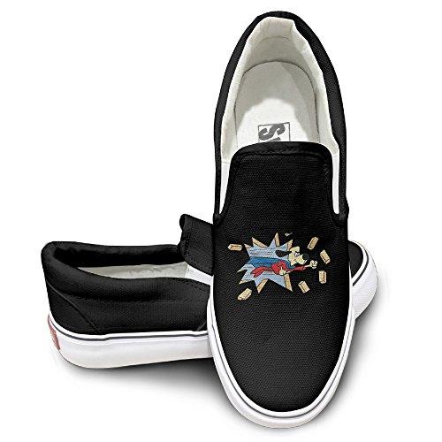 HYRONE Under Super Dog Fashion Sneakers Shoes Baseball Black